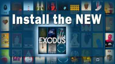 install the new exodus addon
